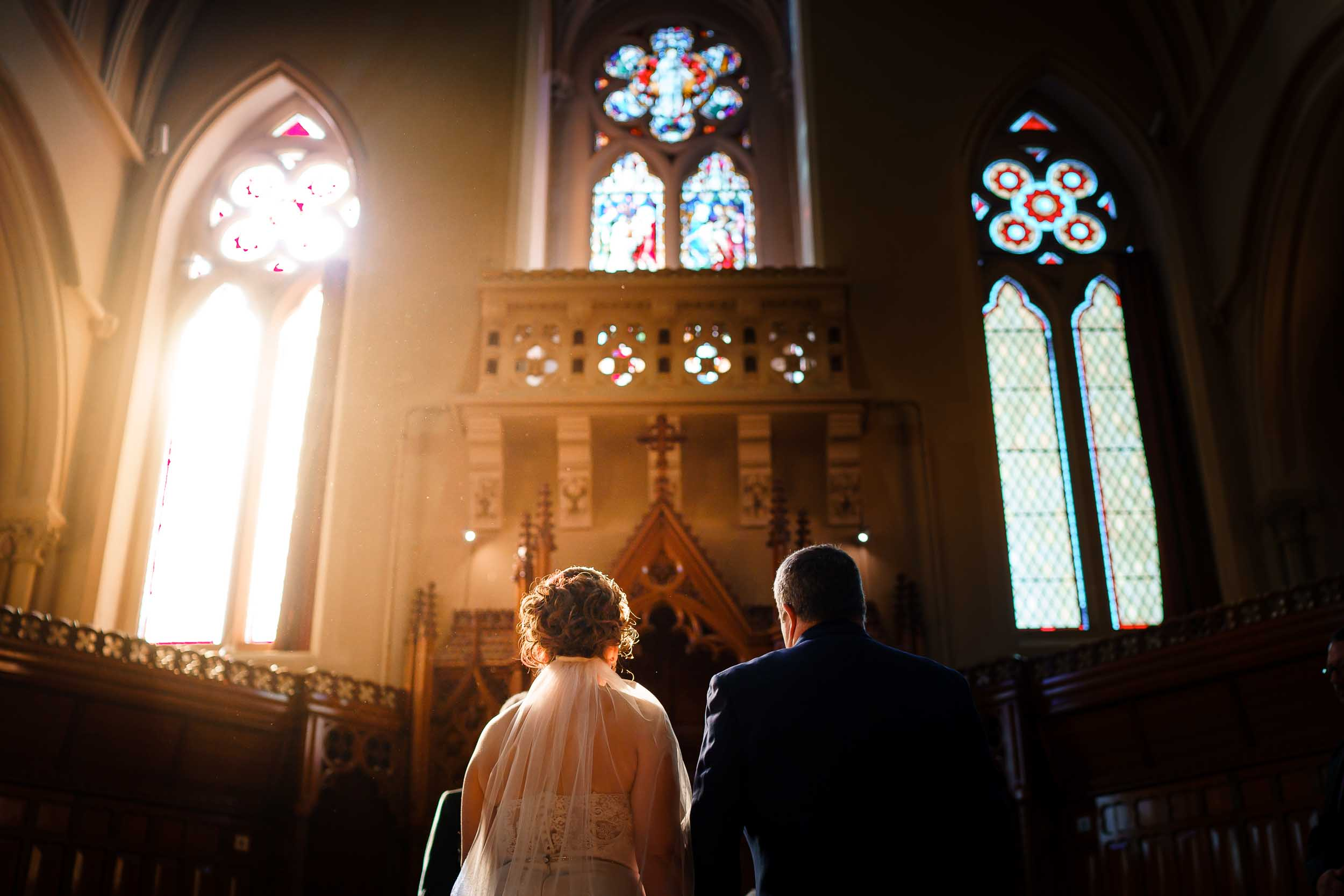 Stanbrook Abbey Wedding Ceremony - David Liebst Photography, Worcestershire