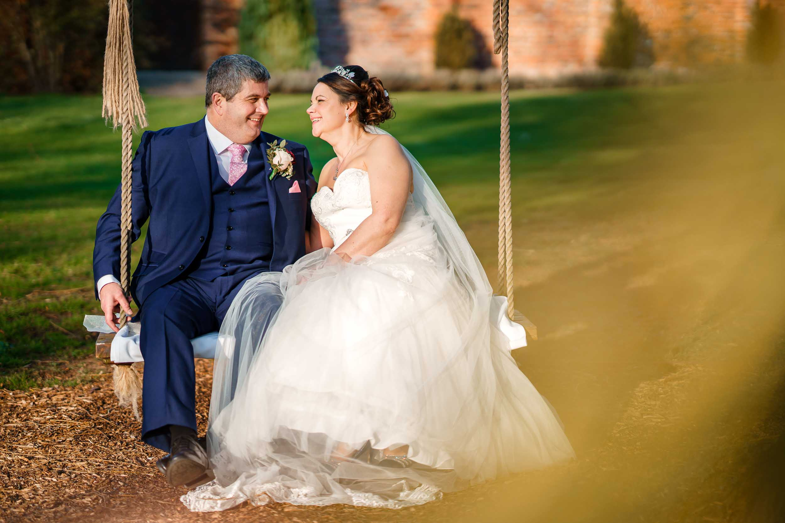 Stanbrook Abbey Bride and Groom Portraits- David Liebst Photography, Worcestershire