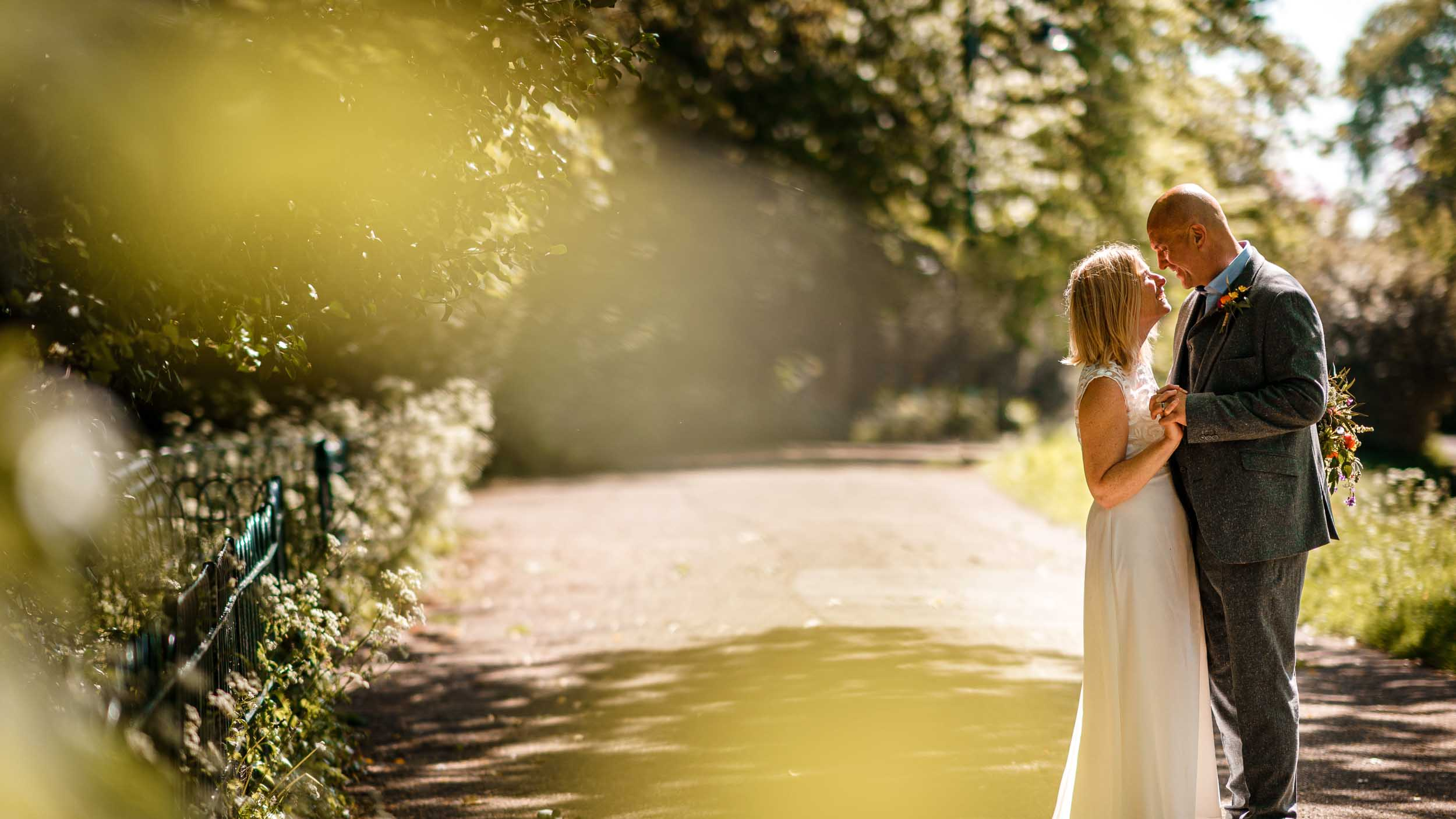 Bride and groom portraits, Herefordshire Wedding Photographer, David Liebst