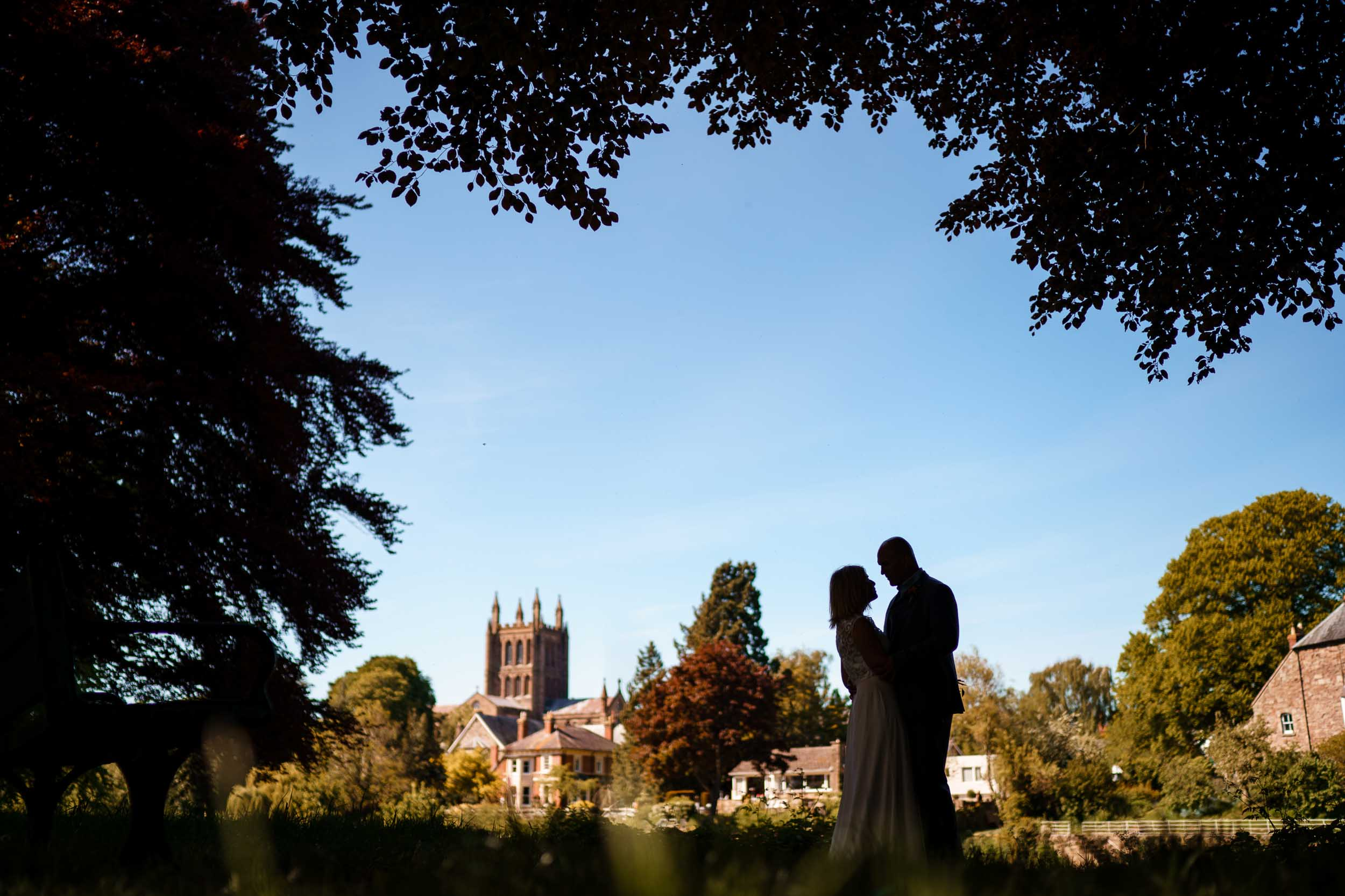 Hereford Town Hall wedding, Elopement wedding photography in Herefordshire