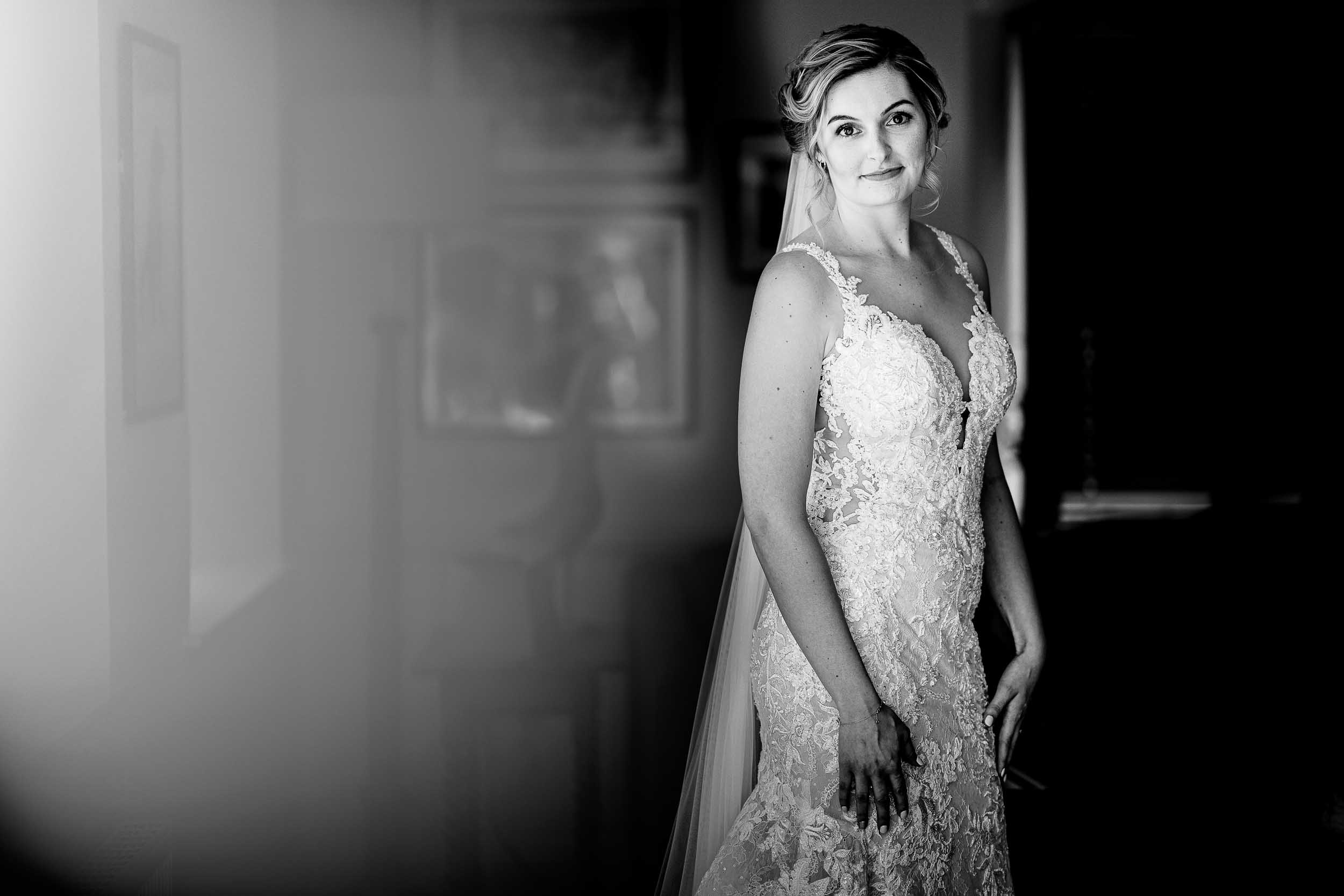 wedding photography in Herefordshire - Bridal portraits