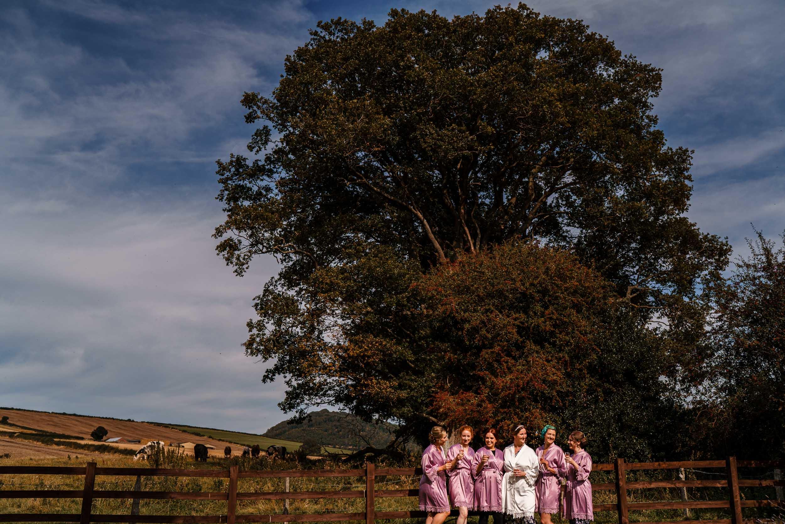 Shropshire Wedding Photography - Farm House Wedding Photographer Shropshire